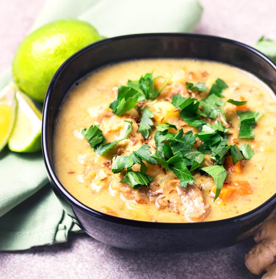 suppe indisch limette