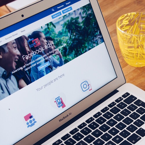 ad facebook google instagram marketing social media