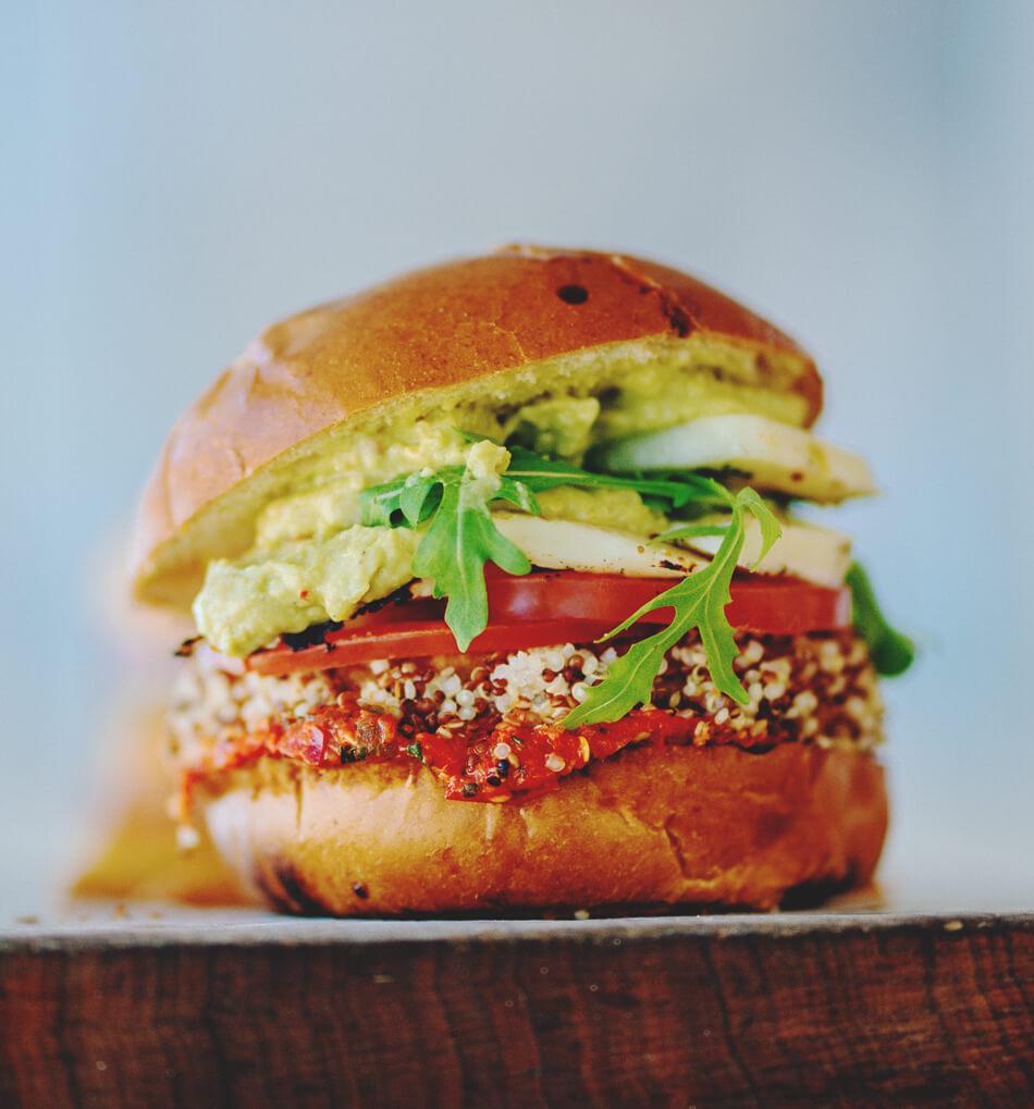 burger rezepte veggie alternetiv salat tomate