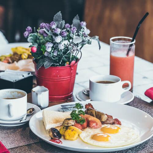 menu buffet teller essen frühstück dinner gastronomie hotel restaurant